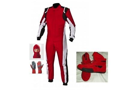 New Go Kart Race Suit Pack With Shoes With Free Gifts