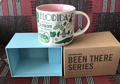 Starbucks  Been There Series Florida 14 Oz Mug