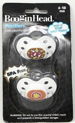 Whine Connoisseur    N359 Lot of 3 BooginHead Pacifiers