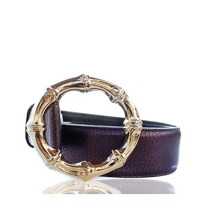 5a25ac9d867 GUCCI TOM FORD Bamboo Leather Belt -  260.13