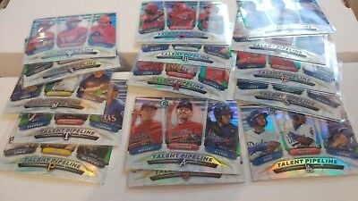 2018 Topps Bowman Talent Pipepline TP You Pick UPick From List Lot