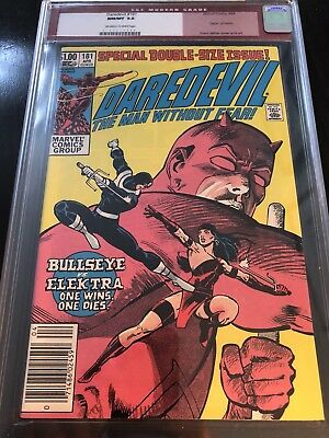 Daredevil 181 CGC 9.8 OW/White Pages Newsstand NM to Mint Centered Old Label!