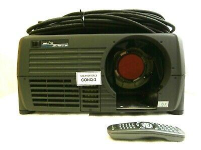 Christie 38-DSP102-07 DLP Simulation Projector MATRIX S+2K M 14622 Hours Used