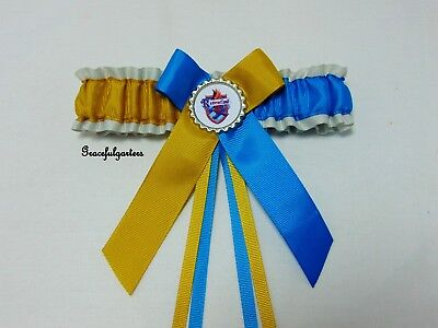 Ravenclaw Bridal Wedding garter. Harry potter.