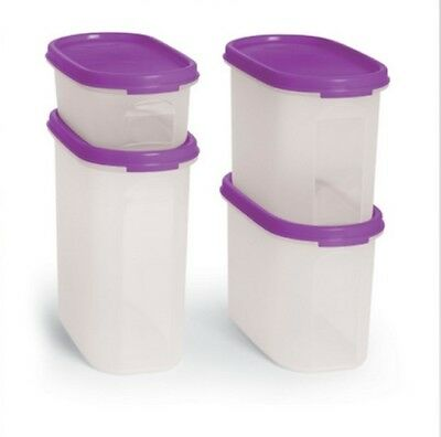 Tupperware Square Away Snack- Set 2- 1 1/2 cup each Free Fedex Shipping