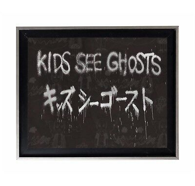 Kanye West & Kid Cudi 'Kids See Ghosts' Custom Album Artwork Poster or Art Print