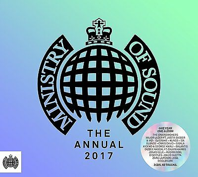 Ministry Of Sound The Annual 2017 3 Disc Box Set BRAND NEW 5051275084320