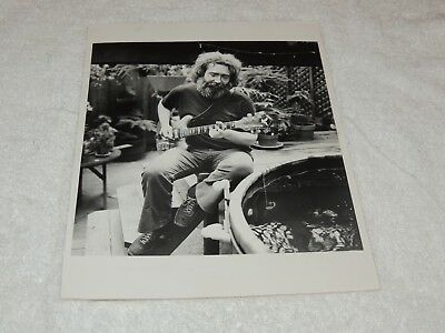 Grateful Dead / Jerry Garcia - 8x10 Black & White Original Print - VERY Nice