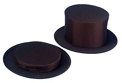 MAGICIAN Folding Foldable Collapsible small Hat kids MAGIC W//secret compartment