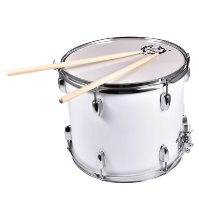 1Pc Marching Snare Drum Kit With Bag &Drumsticks&Drum Key 40.5 x 32cm