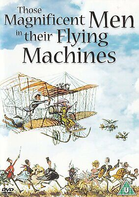 Those Magnificent Men In Their Flying Machines [1965] (DVD)
