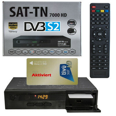 full hd sat receiver f r tivusat mediaset inkl tivusat smartcard aktiviert rai eur 134 99. Black Bedroom Furniture Sets. Home Design Ideas