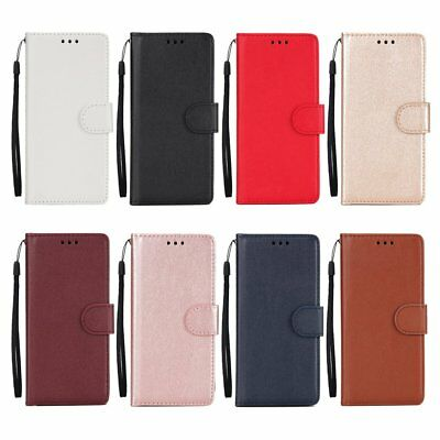 For iphone SE 6S 7 8 Plus/X Luxury Business Leather Case Flip Wallet Cover TU