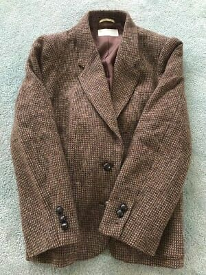 Made In Japan Pure Wool Lined Womens Jacket, Free Shipping