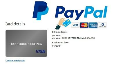 Verified PayPal Account - Virtual credit card for PayPal verification - Help