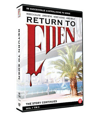 Return to Eden (1986) NEW PAL Series Cult 9-DVD Set Rebecca Gilling James Reyne