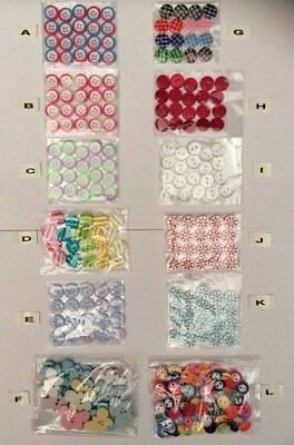 Buttons see listing for designs & sizes available - Craft - Knitting/crochet etc