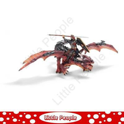 SCHLEICH WORLD OF KNIGHTS 70100 Dragon Rider & Dragon