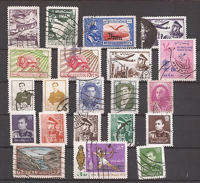 Persia   -  Lot Of  Stamps