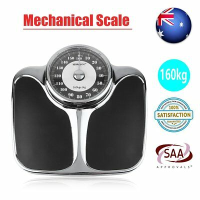 Mechanical Home Bathroom Personal Weight Scale Floor Body Scales Load 160kg BG