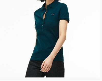 Short Manicacorta Pf7845 Stretch Lacoste Donna Woman Polo sl Slimfit qS4HnIw