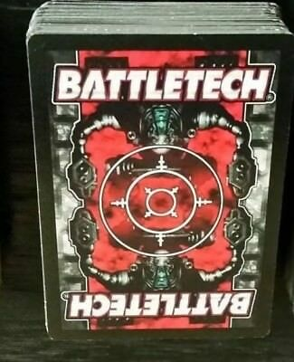 282 Vintage BattleTech Collectible Card Game Cards