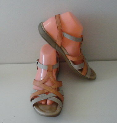 SHOES / SANDALS - Planet - Leather - Ginza - Sun Orange 9 - RRP: $119 - Ex Cond