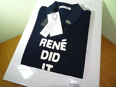 FR38//40 RRP:-£145 RARE LACOSTE WOMENS COTTON PIQUE POLO SHIRT