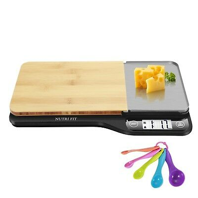Digital Scale Electronic Kitchen Food Diet Cooking Food Weighing Scales 11lb 5kg