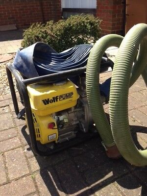 Wolf Petrol water pump