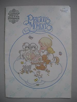 Precious Moments - Baby Book - Designs by Gloria & Pat - Cross Stitch Patterns