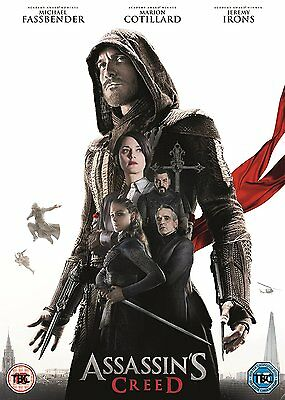 Assassin's Creed [DVD] Michael Fassbender  Brand New Fast Post 5039036079488