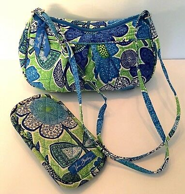 Vera Bradley Bag with matching Eyeglasses Case