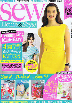 Sew Home & Style magazine. Sewing inspirations. Issue 59. May 2014.