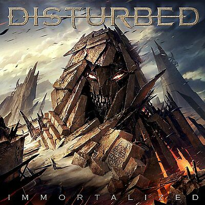 8Immortalized By Disturbed Brand New and sealed CD album Fast Post 0093624926320