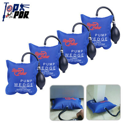 4x Inflatable Air Pump Wedge Shim Open Pry Entry Bags Car Window Door Hand Tools