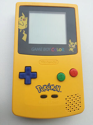 Nintendo Game Boy Color Limited Edition Pokemon Pikachu Konsole