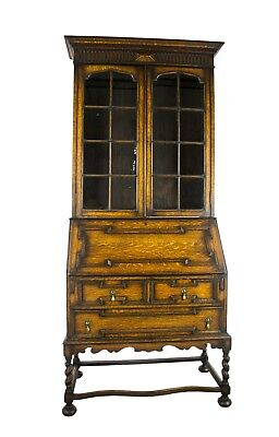 Antique Secretary Desk, Victorian Desk, Fall Front Desk,Antique Furniture,B1027