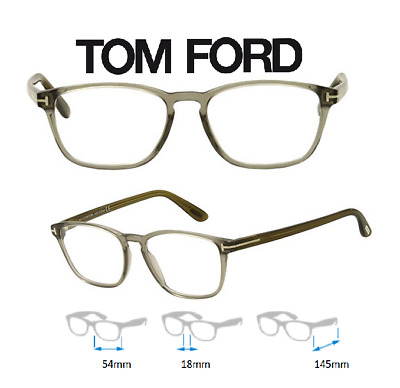 a55716232d Tom Ford FT5355 020 Eyeglass Frames Gray New   Authentic 54mmX18mmX145mm