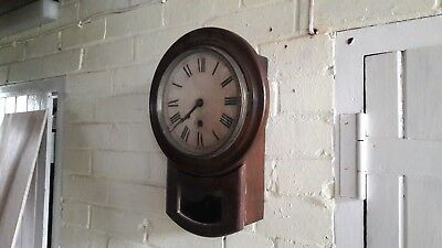 Old wall clock in working order but needing tlc