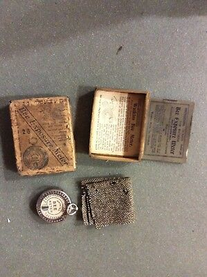"Boxed with instructions Antique Watkins ""Bee Meter"" Plate Camera Exposure Meter"