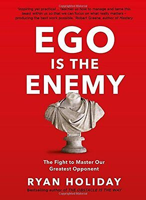 Ego is the Enemy by Ryan Holiday Hardcover Fast Post 9781781257012