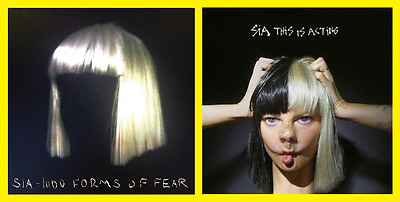SIA 1000 Forms of Fear AND This is Acting Brand New and sealed Album CDs Pack MB