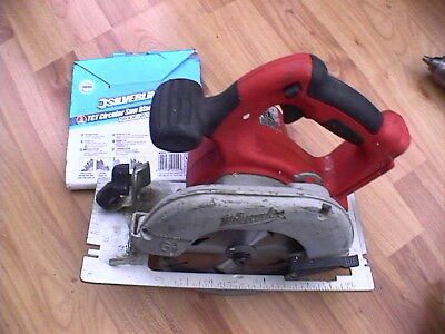 Milwaukee V28Cs 165Mm 28V Cordless Circular Saw (Body Only)