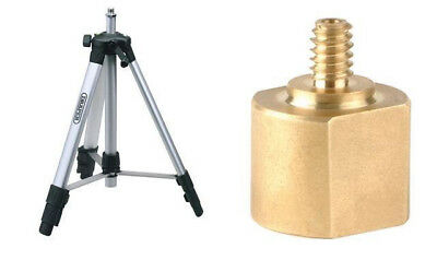 "Draper 65643 Tripod for Camera / Laser Levels 5/8"" + 1/4"" UNC ADAPTOR7"
