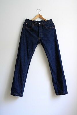 levi's 501xx jeans, w33, selvedge, vintage 2000's, reproduction