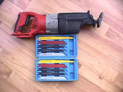 Milwaukee 07 19-20 V28 28V Recprocating Sawzall Tool Only + 2 Sets Of New Blades