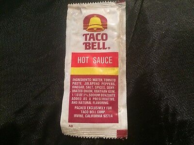 Taco Bell Hot Sauce Packet