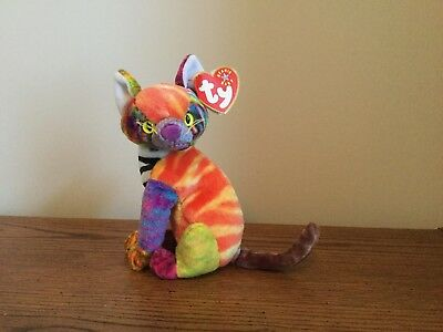 c189b201dc5 TY BEANIE BABY - Kaleidoscope the Cat 2000 -  7.00