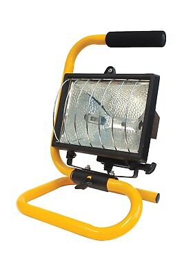 Work Light Halogen 500W Portable With Floor Stand